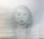autoportrait Lucile cours ado