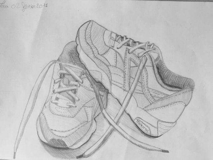 Nature morte moderne dessine tes chaussures les ateliers cr atifs - Coloriage professionnel ...