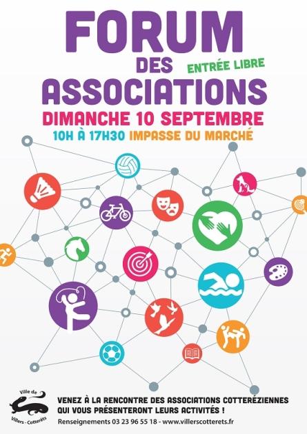 Forum des associations 2017 à Villers-Cotterets
