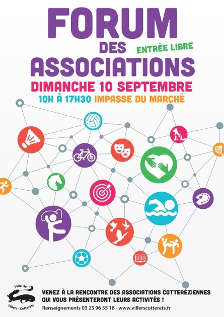 Forum des associations 2017 à Villers-Cotterets