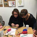 Stage crochet adulte encadré par Carole Codden au sein de l'association Les Ateliers Créatifs à Villers-Cotterêts