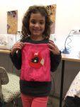 cours de couture enfant encadré par Emilie Bêchepois aux ateliers creatifs de villers cotterets