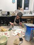 stage mosaique adulte, encadré par catherine abit aux ateliers créatifs de villers-cotterets.
