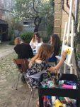 cours de dessin en plein air aux ateliers creatifs de villers-cotterets