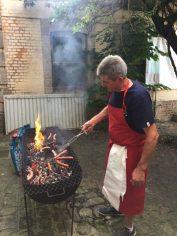 Soirée barbecue avec nos adhérents