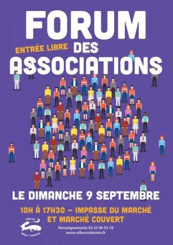 participation des ateliers creatifs au forum des associations au marché couvert de villers-cotterets le dimanche 9 septembre 2018