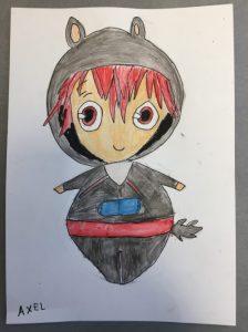 manga réalisé en cours de de dessin enfant aux ateliers créatifs de villers-cotterets.manga réalisé en cours de de dessin enfant aux ateliers créatifs de villers-cotterets.