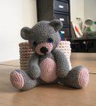 création en crochet réalisée en cours de crochet encadré par Carole Codden aux ateliers créatifs de villers-cotterets