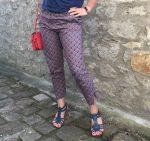 pantalon réalisé par Coraline en cours de couture adulte aux ateliers créatifs de Villers-Cotterêts