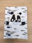 protège cahier réalisé en cours de couture enfants encadré par Emilie Bêchepois aux ateliers créatifs de Villers-Cotterêts