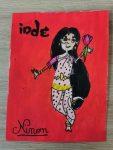 carte postale réalisée en cours de dessin enfants aux ateliers créatifs de villers-cotterets