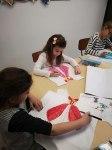 Stage tee-shirt, dessin et couture enfant encadré par Coraline Van Butsele et Emilie Bêchepois aux ateliers créatifs de Villers-Cotterêts
