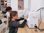 stage dessin et couture, réalisation d'un tee-shirt aux ateliers créatifs de villers-cotterets