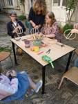 stage vannerie encadré par Corinne Sohet aux ateliers créatifs de Villers-Cotterêts