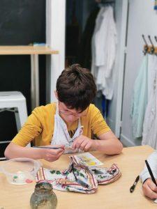 cours de dessin enfant aux ateliers créatifs de Villers-Cotterêts
