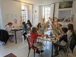stage dessin et couture aux ateliers créatifs de villers cotterets