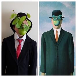 Le fils de l'homme, René Magritte par Ewen
