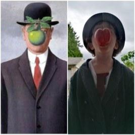 Le fils de l'homme, René Magritte par Simon