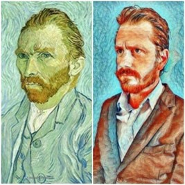 Autoportrait à Saint Rémy, Vincent Van Gogh, par Jérôme
