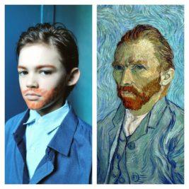 Autoportrait à Saint Rémy, Vincent Van Gogh, par Sacha