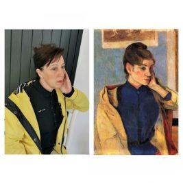 Portrait de Madeleine Bernard, Paul Goguin, par Christelle