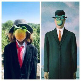 Le fils de l'homme, René Magritte par Daphné