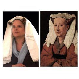 Portrait de Margareta Van Eyck , Jan Van Eyck, par Agnès
