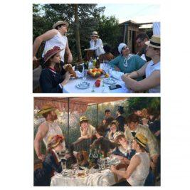 Le déjeuner des canotiers, Auguste Renoir