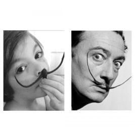 Portrait de Salvador Dali par Clovis