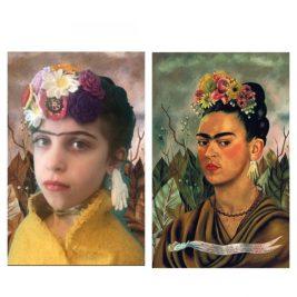 Autoportrait dédicacé au Docteur Eloesser, Frida Kahlo, par Janis