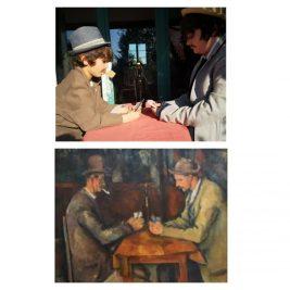 Les jouers de cartes, Paul Cézanne, par Apollin et Octave