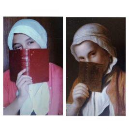 Jeune fille au livre, Pierre Antonio Rotari, par Jeanne