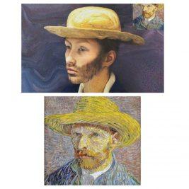 Autoportrait avec chapeau, Van Gogh, par Zoé