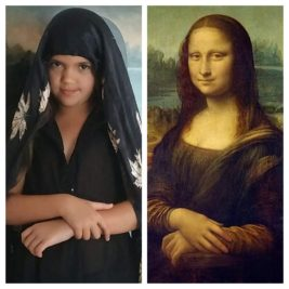 La Joconde, Léonard de Vinci, par Julia
